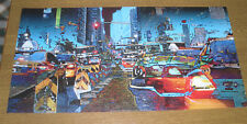 POSTER ARTISTICO EDITIONS BRAUN 2009  50X100 BOUTEILLER - TAXIS Made in FRANCE