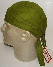 Bandanna Olive Drab Army Green Military Durag Doo Rag Skull Cap Headwrap Biker