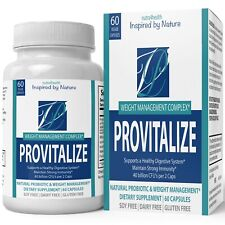 Provitalize Probiotic Weight Management Pills ORIGINAL Pills by nutra4health