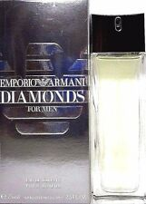 EMPORIO ARMANI DIAMONDS FOR MEN Eau De Toilette Spray 2.5 Oz / 75 ml BRAND NEW !