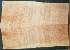 Figured Maple Instrument Wood 11440 Luthier 5A Solid Body Guitar Top Set