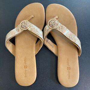 Lindsay Phillips Debra Flip Flop Sandal - Women's Size 9 - Brown