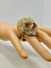 Crystal Skull Ultra Ring - Gold or Silver