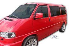 Déflecteurs de vent pluie air teintées pour VW T4 Transporter Caravelle Multivan