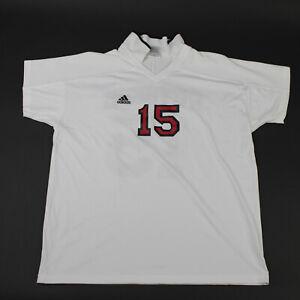Tampa Bay Buccaneers adidas Short Sleeve Shirt Men's White Used