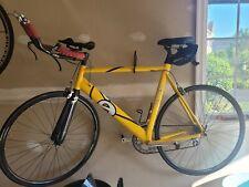 Cervelo 58cm triathlon road bike - yellow