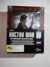 Doctor Who 50th Anniversary Blu Ray (REGION B) Boxset  AUSTRALIAN IMPORT Dr Who