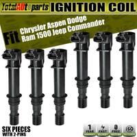 Set of 6 Ignition Coil Pack DG548 DG-548 DG549 DG-549 UF-646 UF646 BL3Z-12029-C BL3E-12A375-CB BL3Z-12029-B For 2011-2014 Ford Lincoln F-150 Explorer Flex Taurus MKT 3.5L V6 Q6UFD646R