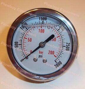 857072 3000 psi Belt Tension Gauge for New Holland BR 600 Series Round Baler