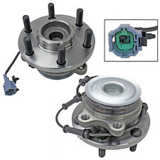 Front Wheel Hub Bearing Assembly Pair/Set for Nissan Frontier Pathfinder Xterra