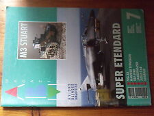 $$ ABM Maquettes N°7 M3 Stuart  Super Etendard  VG 33  Sea Fire  Jagdpanzer