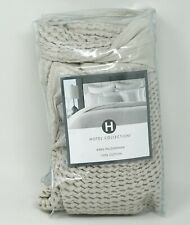 Hotel Collection Waffle Weave 100% Cotton Pillow Sham - KING - Natural