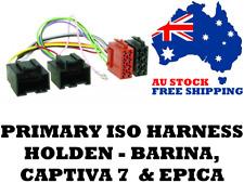 Aerpro APP016 Primary ISO Harness Suit Holden - Barina, Captiva 7 & Epica