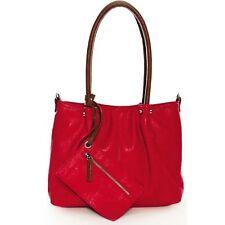 Edel Maestro Surprise CITYSHOPPER Handtasche Bag In Bag Schulter Tasche Rot Neu