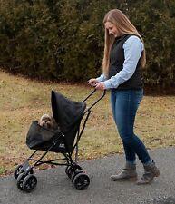 Pet Stroller Dog Buggy Puppy Carriage Cat Kitten Lightweight Umbrella Walking