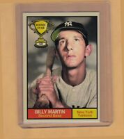 Billy Martin '52 New York Yankees Rookie Stars series #13 Monarch Corona