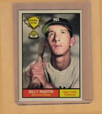 Billy Martin '52 New York Yankees Rookie Stars series #13 Monarch Corona