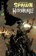 MEDIEVAL SPAWN WITCHBLADE #3 (OF 4) COVER A HABERLIN IMAGE COMICS 2018