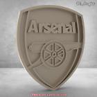 3D stl model  COAT OF ARMS basrellef FC Arsenal for cnc artcam aspire