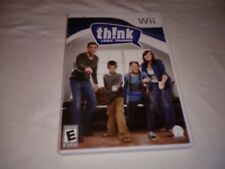 Think: Logic Trainer (Nintendo Wii, 2009) MINT CONDITION, Plays Well