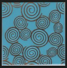 Gorgeous 6X6 Hand-Painted Craftsman Decorative Tiles, Frost Resistant, Pool Safe