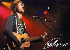 Ed Sheeran Autograph Photo PRINT 7x5 Musician Singer BRIT Awards