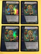 VS System TCG A CHILD NAMED VALERIA x4 Playset RARES FOILS Played with Condition