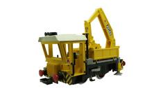 Playmobil -- Pièce de rechange -- Train locomotive de chantier 4053  --