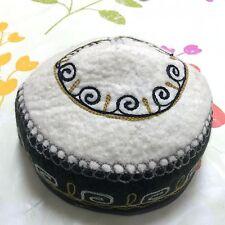 Kyrgyzstan Traditional Handmade Felt Hat Cap Tubeteika Embroydered Unisex E137
