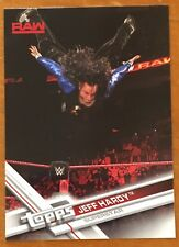 JEFF HARDY, WWE 2017 TOPPS CARD, WOW ! EXCELLENT CONDITION !