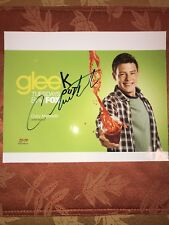 RARE Cory Monteith SIGNED Glee Picture