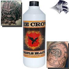 The Crow Triple Black Tattoo Ink - 16oz