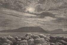 Polar scenery - Bellot Island. Canada. Canadian Arctic Archipelago 1885 print