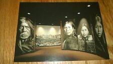 """Vintage Postcard """"ROYAL BRITISH COLUMBIA MUSEUM-The First Peoples ,Made in JAPAN"""