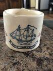 """Vintage Old Spice """"Ship Friendship"""" Shaving Mug ~B"""
