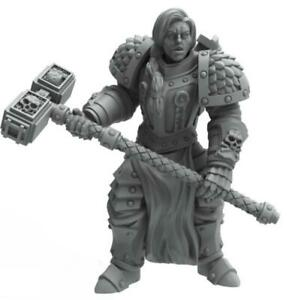 Heresy Lab Miniatures Female Inquisitor Barbaretta Hammer Glaive