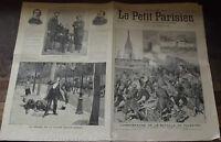 LE PETIT PARISIEN N°230. 2/07/1893.LA CÉRÉMONIE MILITAIRE DE ST-AIL