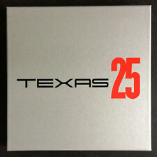 TEXAS * 25 * LIMITED NUMBERED DELUXE LP/CD/BOOK BOX SET * BN!* SHARLEEN SPITERI