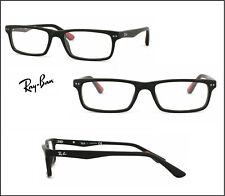 Ray Ban RX 5277 2077 Sandblasted Black Frames Prescription Eyeglasses  54-17-140