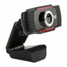 USB 2.0 12MP HD Camera Web Cam 30° Rotation w/ Mic Clip-on for Android TV PC