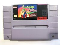 Lemmings - SNES Super Nintendo Game - Tested & Authentic!