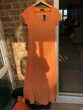 BNWT Polo Ralph Lauren Long Orange DRESS - Size MEDIUM
