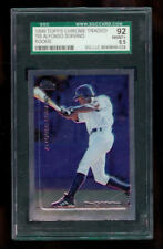 1999 Topps Chrome Traded Alfonso Soriano #T65 SGC 92 = 8.5 Graded Rookie Card