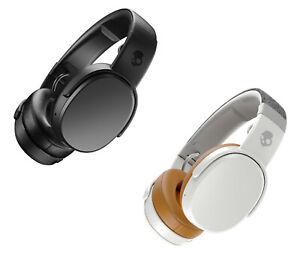 SKULLCANDY CRUSHER Wireless Rechargeable Headphones Bluetooth Mic - Black/Grey -