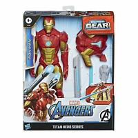 Hasbro Avengers Titan Hero Blast Gear Iron Man Action Figure