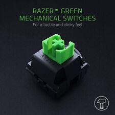 RAZER Blackwidow Mechanical Gaming Keyboard, with RAZER Green Switches (Clicky a