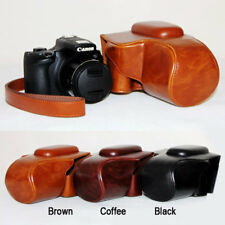 Leather Hard Camera protect case bag Grip strap for Canon PowerShot SX60 HS