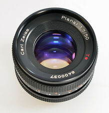 Planar 1,7/50 T * Carl Zeiss Contax/Yashica Mount 50mm standard f/1.7 50mm (9089)