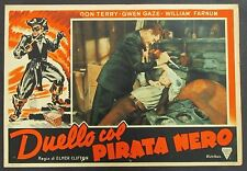 Duello col Pirata Nero - Terry & Gaze Locandina 1938 Film Poster Plakat (Y-4448+