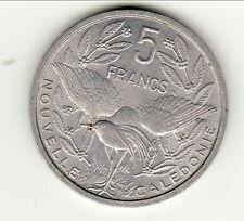 5 FRANCS NOUVELLE CALEDONIE 1952 SPL /FDC  peu commune !